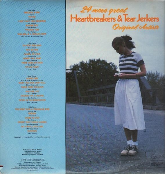 24 more great heartbreakers & tear jerkers by Original Artists, LP with  recordsale