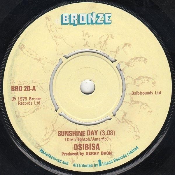 OSIBISA - Sunshine Day - 7inch x 1