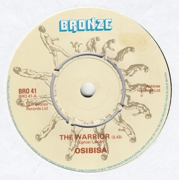 OSIBISA - The Warrior - 7inch x 1