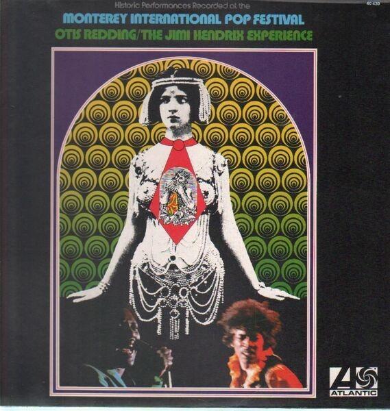 otis redding / the jimi hendrix experience historic performances recorded at the monterey international pop festival