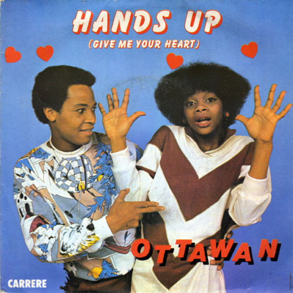 Album Hands up give me your heart de Ottawan sur CDandLP