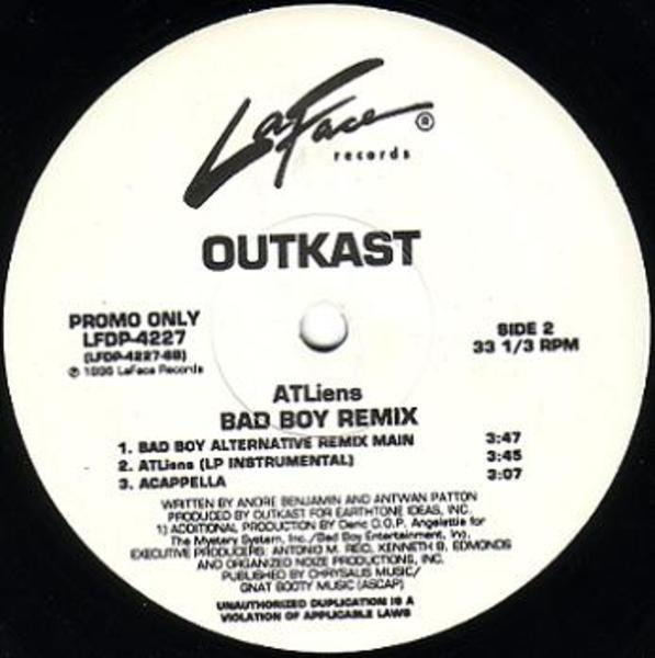 OutKast Atliens (Bad Boy Remix) (PROMO)