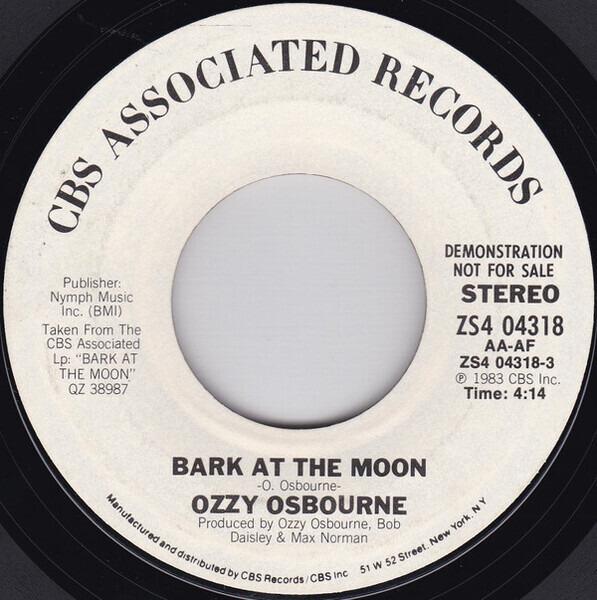 #<Artist:0x00007fce7cc7cca0> - Bark at the Moon