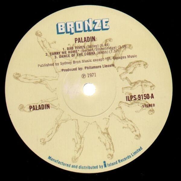 Paladin Paladin (ORIGINAL 1ST UK)