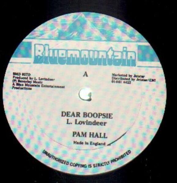 PAM HALL - Dear Boopsie - 12 inch x 1