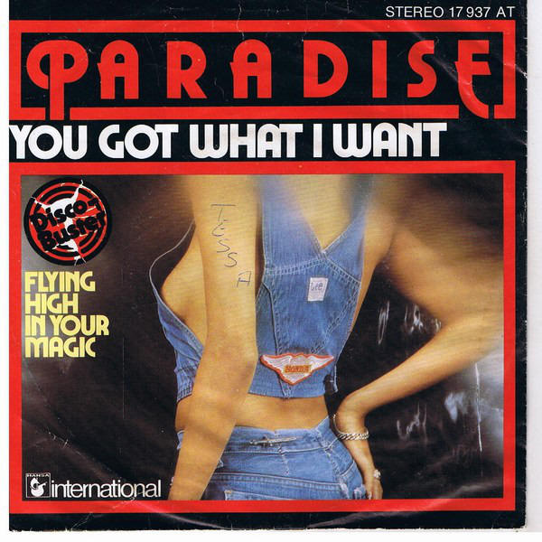PARADISE - You Got What I Want - 45T x 1