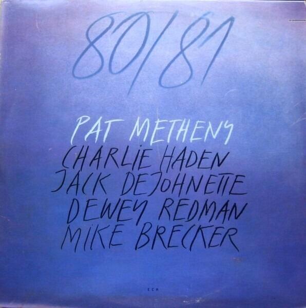 PAT METHENY - 80/81 - LP x 2