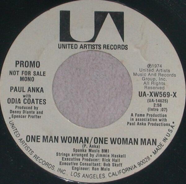#<Artist:0x00007fd9026b8270> - One Man Woman / One Woman Man