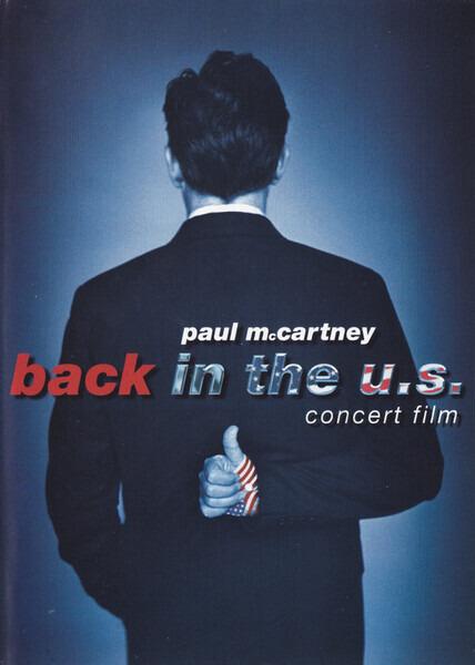 #<Artist:0x00007f4de764c850> - Back In The U.S. - Concert Film