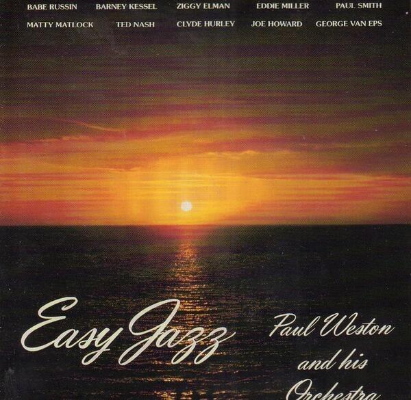 PAUL WESTON - Easy Jazz - CD