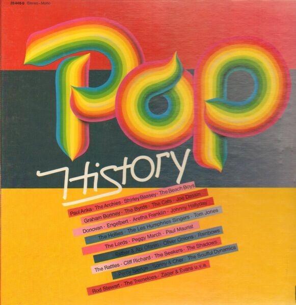 #<Artist:0x007fac2d8f4590> - Pop History