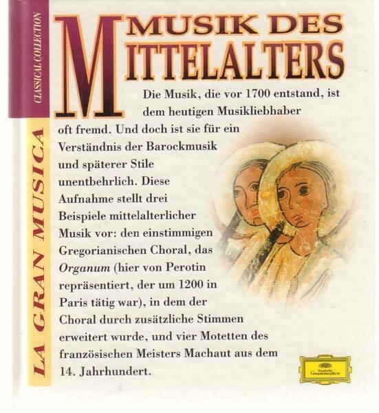 Perotin / Guillaume de Machaut a.o. Musik des Mittelalters