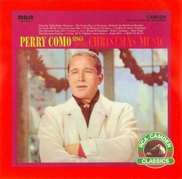 Perry Como Christmas.Perry Como Sings Merry Christmas Music