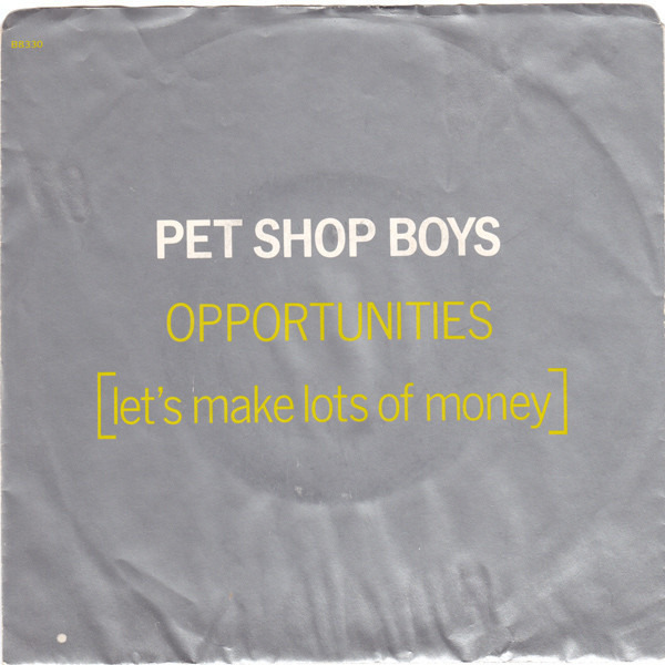 #<Artist:0x00007f418f409a20> - Opportunities (Let's Make Lots Of Money)