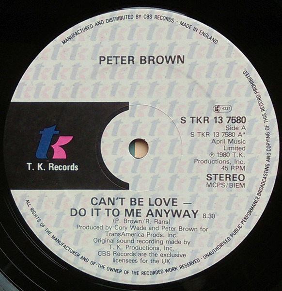 #<Artist:0x00007f6504080578> - Can't Be Love - Do It To Me Anyway
