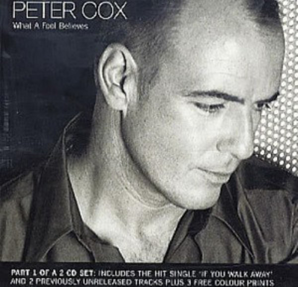 PETER COX - What A Fool Believes (CD1) - CD single