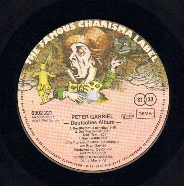 Peter Gabriel Peter Gabriel 4 (EIN DEUTSCHES ALBUM)