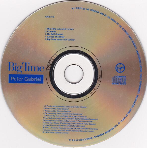 Peter Gabriel big time (digisleeve)