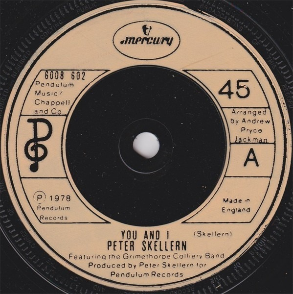 Peter Skellern You And I