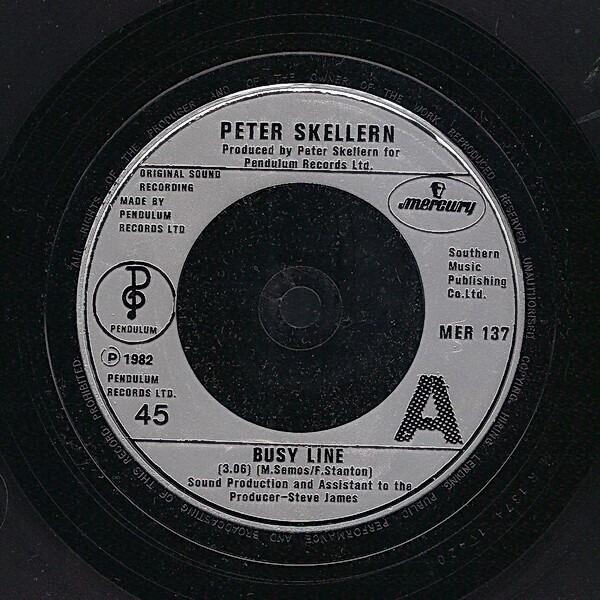 Peter Skellern Busy Line