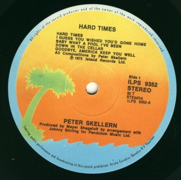 Peter Skellern hard times