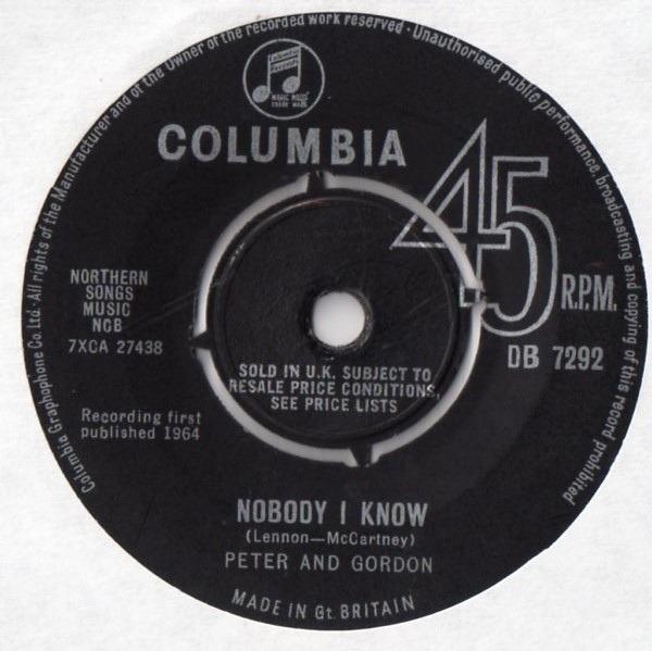 #<Artist:0x007f133f456150> - Nobody I Know