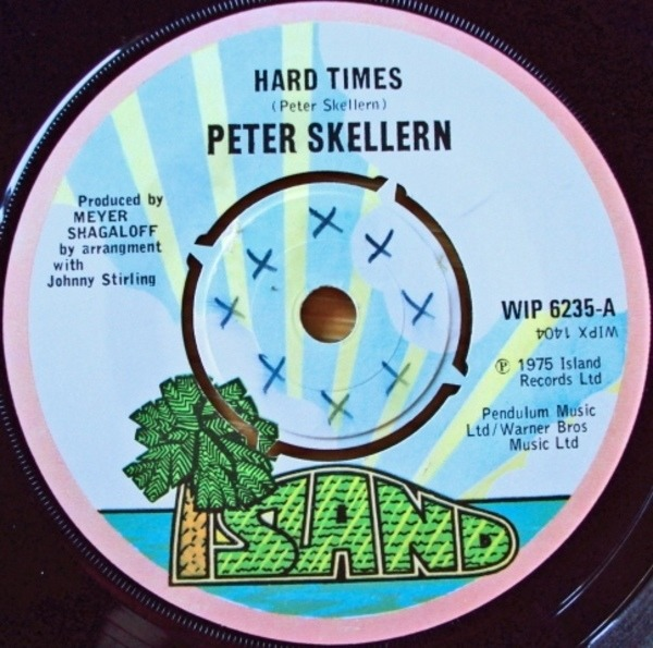 Peter Skellern Hard Times