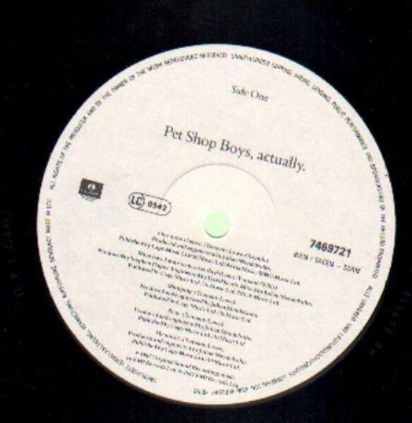 Pet Shop Boys Actually (DMM)