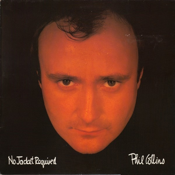 Phil Collins no jacket required (black labels)