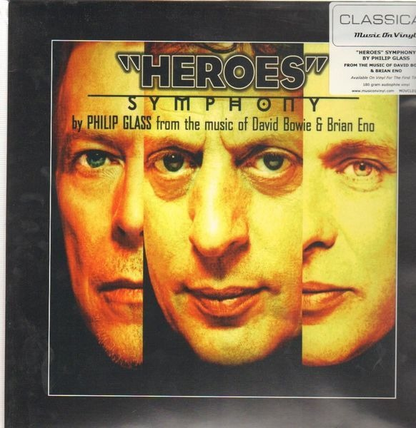Philip Glass From The Music Of David Bowie & Brian 'Heroes' Symphony (180GR)