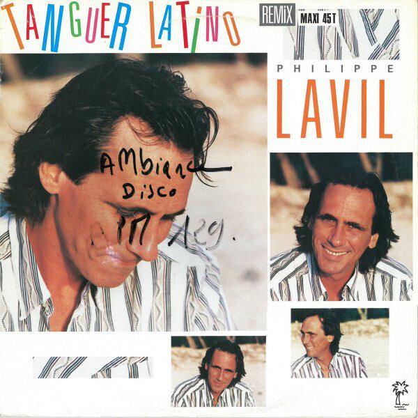 PHILIPPE LAVIL - Tanguer Latino - 12 inch x 1