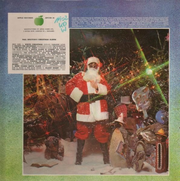 Ronettes Christmas.Phil Spector S Christmas Album By Phil Spector Darlene Love The Ronettes Lp With Recordsale