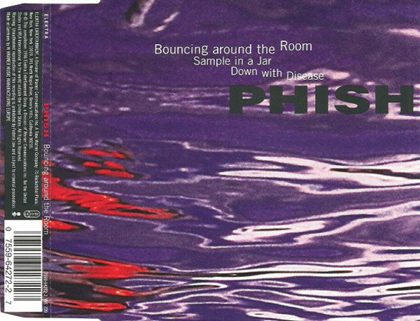 PHISH - Bouncing Around The Room - CD Maxi