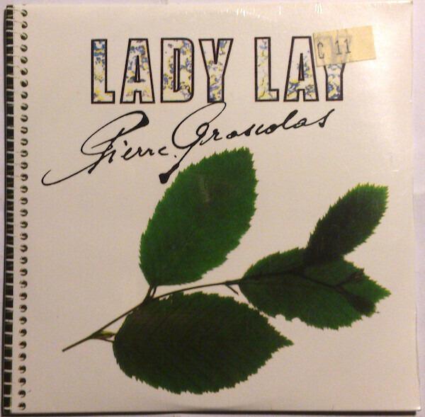 PIERRE GROSCOLAS - Lady Lay - CD single