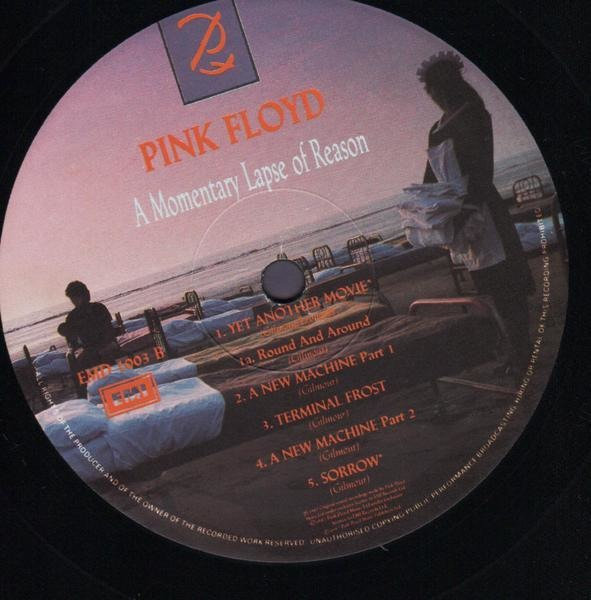 Pink Floyd a momentary lapse of reason (uk)