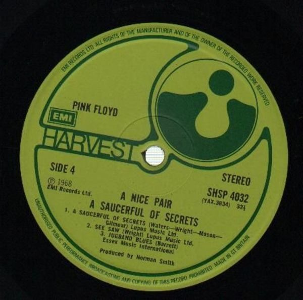 Pink Floyd A Nice Pair (MONK COVER)