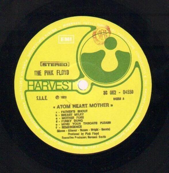 Pink Floyd Atom Heart Mother (GATEFOLD)