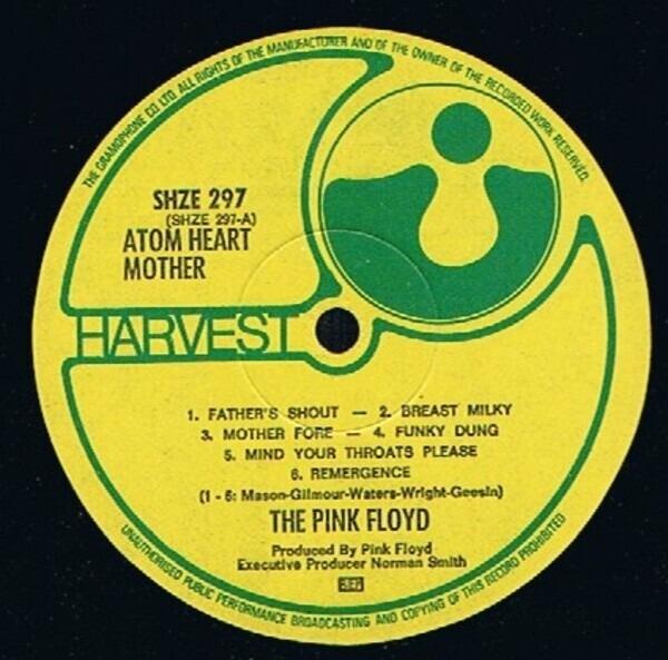 Pink Floyd Atom Heart Mother (BIEM)