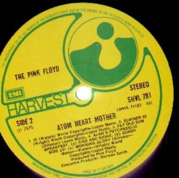 Pink Floyd Atom Heart Mother (A3 B3 UK)