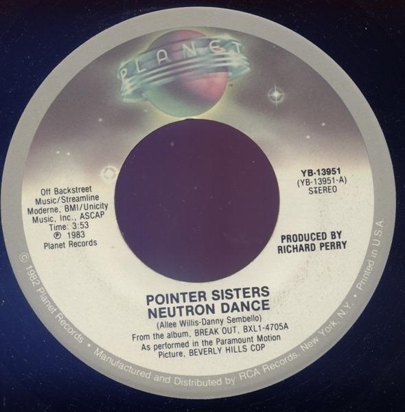 #<Artist:0x0000000008be9648> - Neutron Dance / Telegraph Your Love