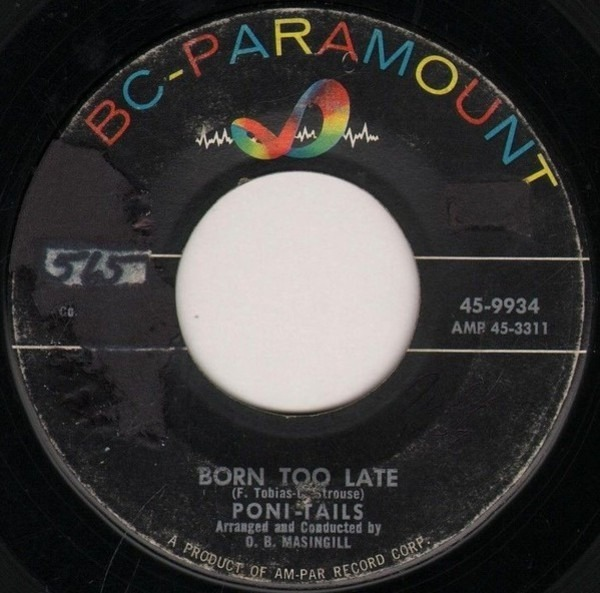 poni-tails born too late / come on joey dance with me