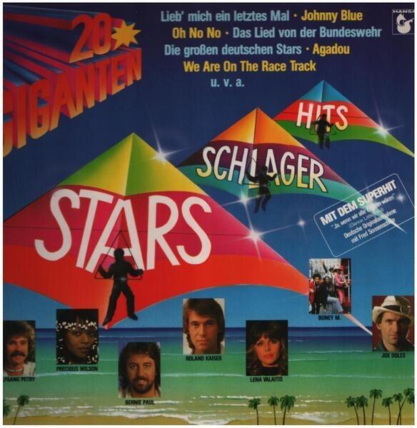 POP COMPILATION - 20 Giganten Stars, Schlager, Hits - 33T