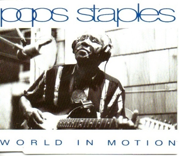 POPS STAPLES - World In Motion - CD Maxi