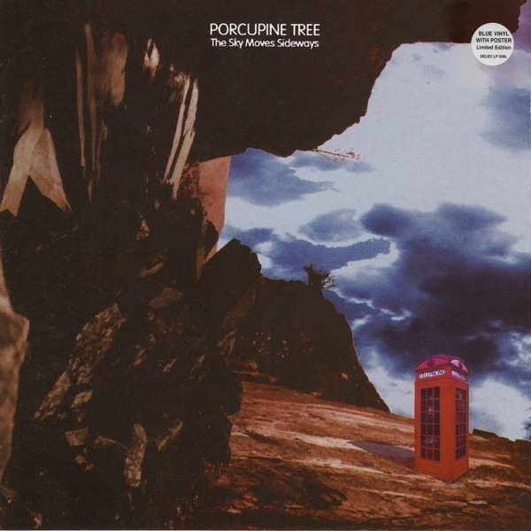 PORCUPINE TREE - The Sky Moves Sideways (BLUE VINYL) - LP