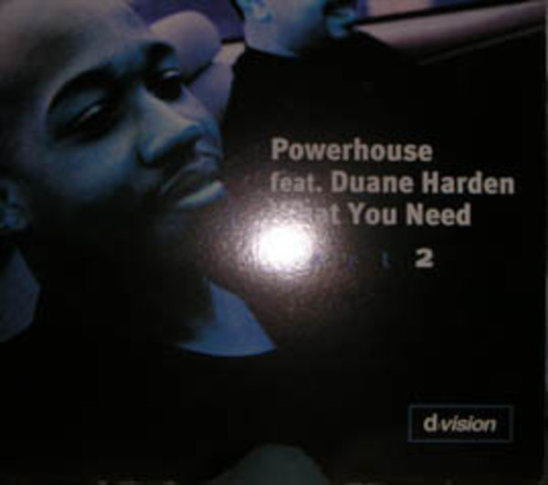 POWERHOUSE FEATURING DUANE HARDEN - What You Need (Part 2) - Maxi x 1