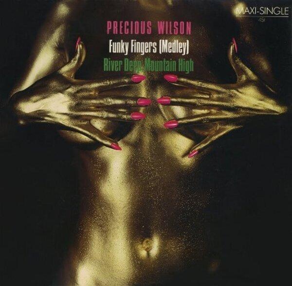 PRECIOUS WILSON - Funky Fingers (Medley) / River Deep, Mountain High - Maxi x 1
