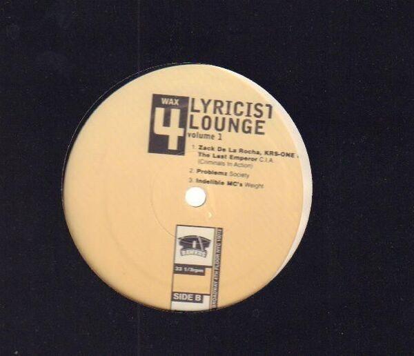 #<Artist:0x00007f8664cd4ff0> - Lyricist Lounge Volume One