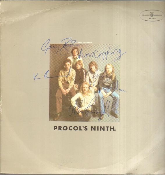 Procol Harum - Procol's Ninth. (red Labels)