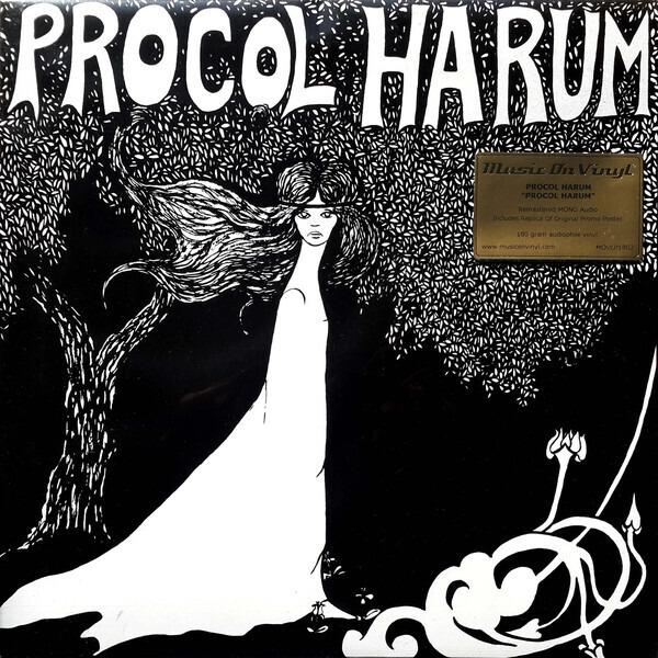 Procol Harum - Procol Harum (remastered Mono/replica Poster)
