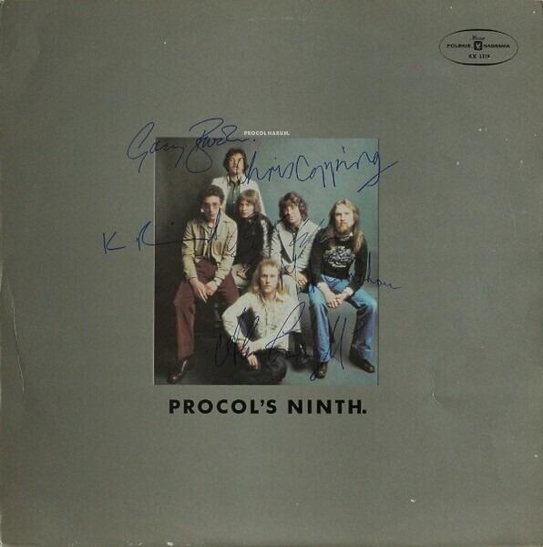 Procol Harum - Procol's Ninth. (blue Label)